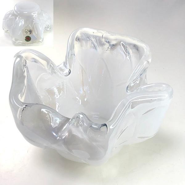 タジマクリスタルガラス灰皿R7568