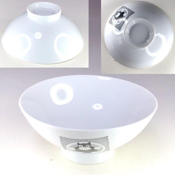 ノラクロ飯茶碗R7693