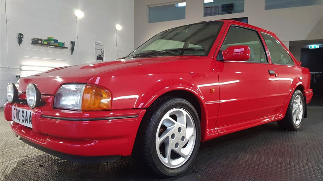 Ford Escort RS Turbo: £21,850