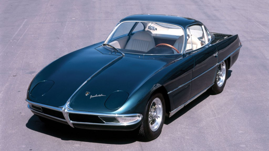 First car shown at the 1963 Turin Auto Show
