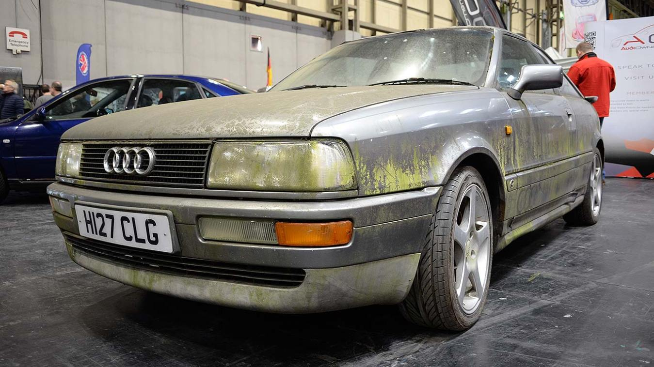 Barn finds at the NEC Classic Car and Restoration Show