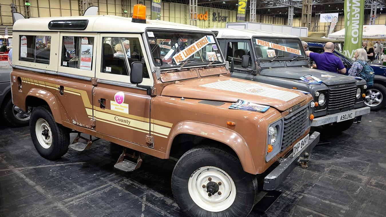 Land Rover 90 and 110