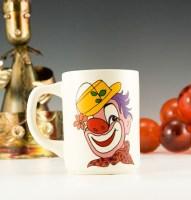 Vintage Clown Mug Made in USA