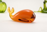 Pilgrim Art Glass figurine made in the 1970's - 1980's.