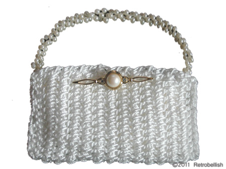 White-Crochet-Purse