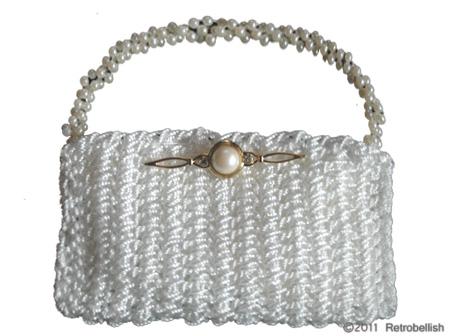 White-Crochet-Purse