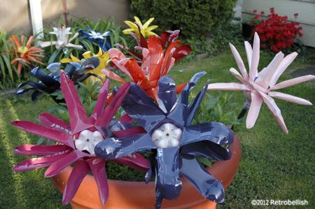 Trash-Art-Plastic-Bottle-Flowers