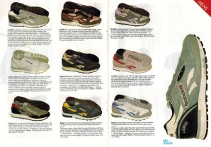 1985 Reebok Catalogue P4 and 5