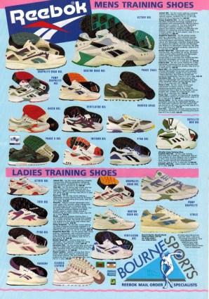1993 Reebok Range Bournes Sports