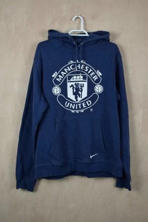 Manchester United Sudadera Capucha Nike