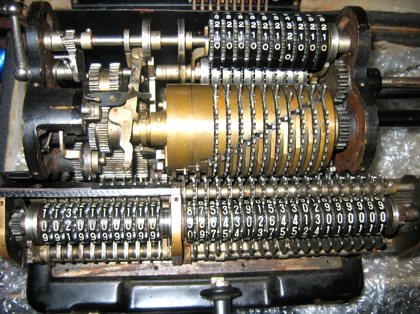 Tiger Mechanical Calculator Japanese Odhner