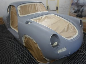 La mise en peinture carrosserie