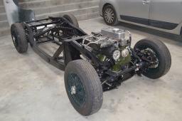 Châssis MG A remonté