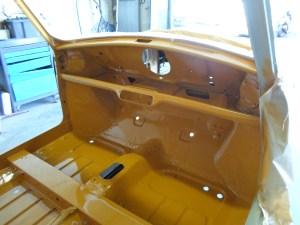 Mise en peinture intérieur Mini MK 3