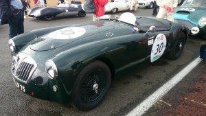 Véhicule terminé prêt à concourir au Mans Classic
