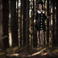 """Ein schaurig-schöner Halloween-Look mit dem """"Nightmare Before Christmas""""-Kleid"""