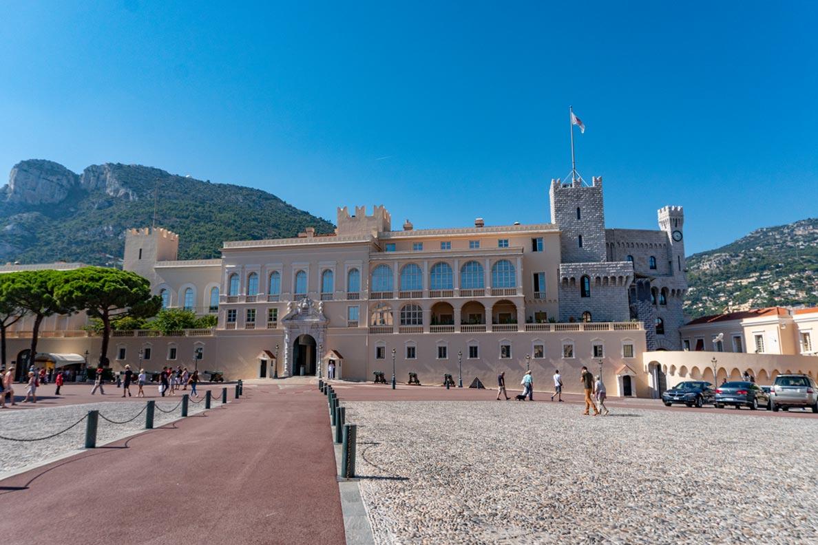 Der Fürstenpalast in Monaco