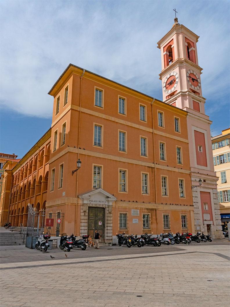 Eine Kirche in der Altstadt von Nizza