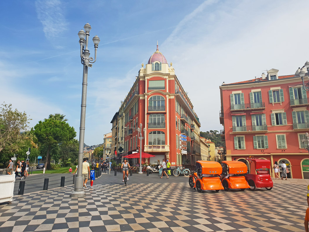 Der Place Masséna in Nizza