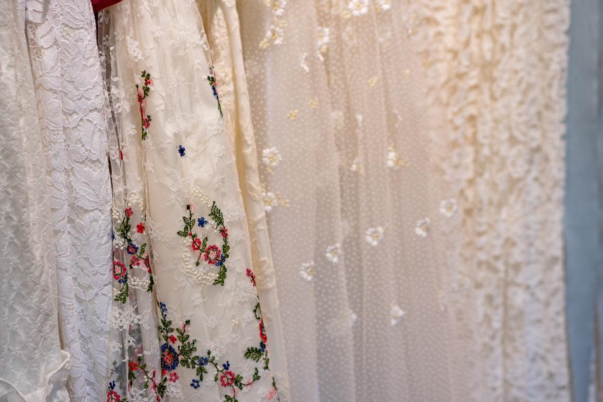 Lena Hoschek Brautkleider in der Detailansicht