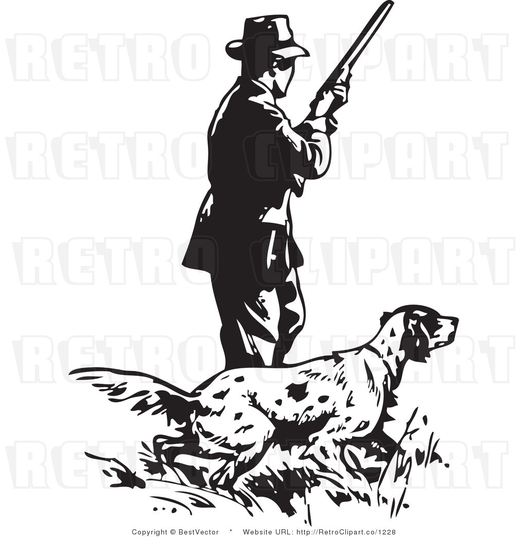 Hunting Clip Art Vector Cliparts