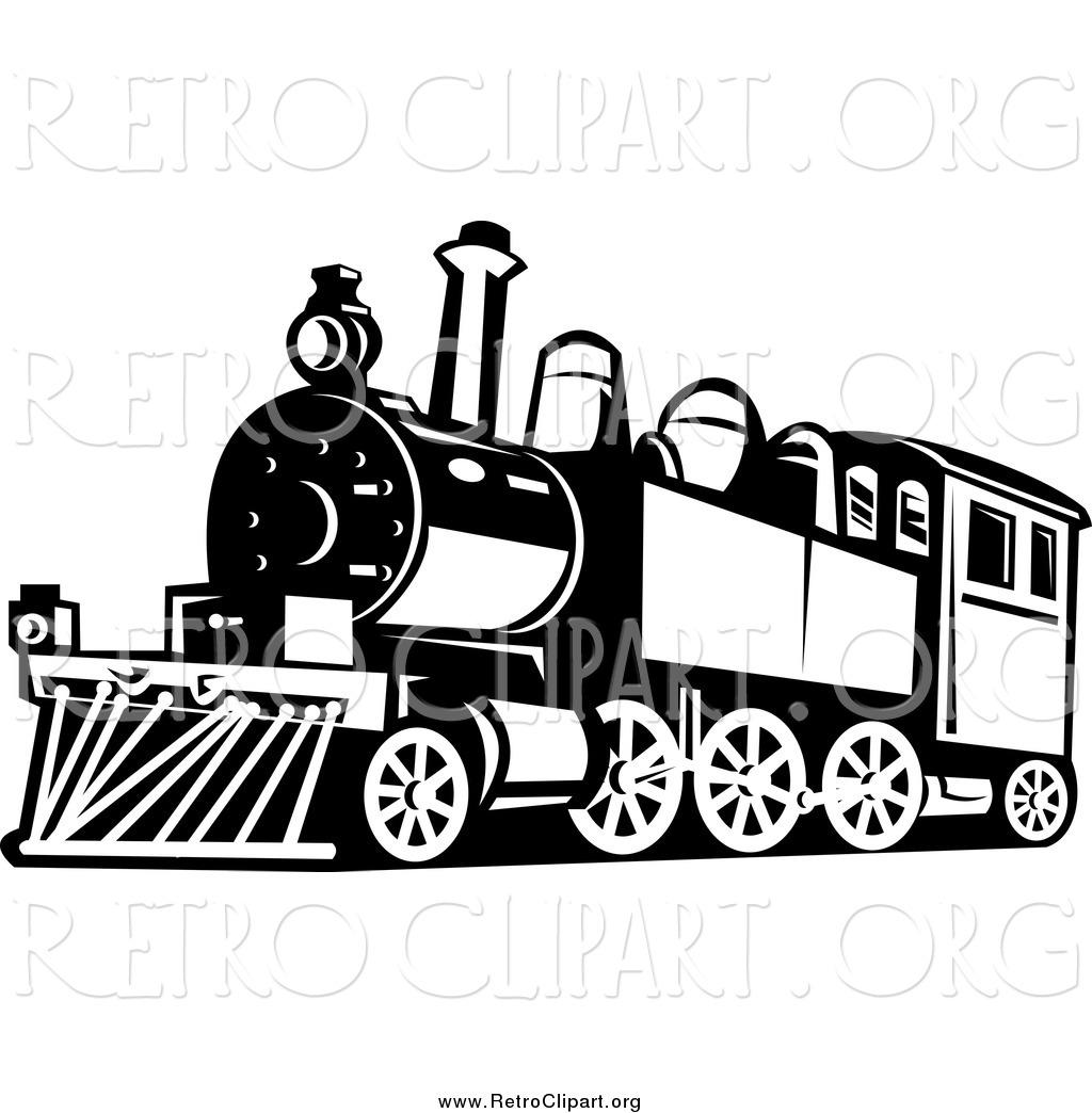 Royalty Free Locomotive Stock Retro Designs