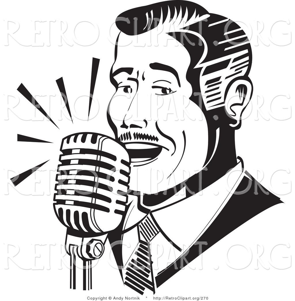 Royalty Free Stock Retro Designs Of Vocals