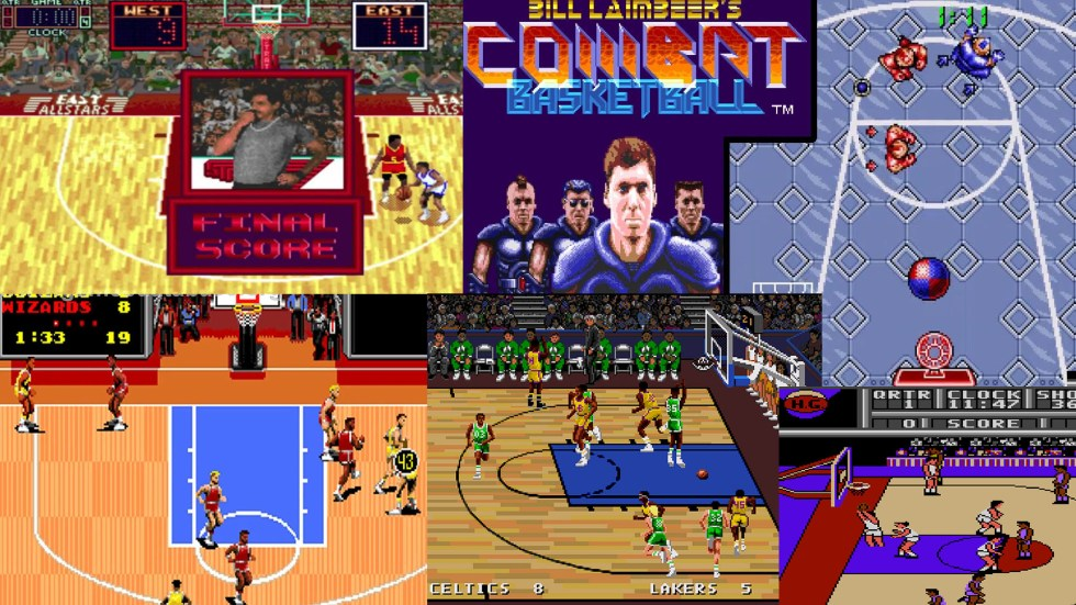 basketball video games 1991 featured