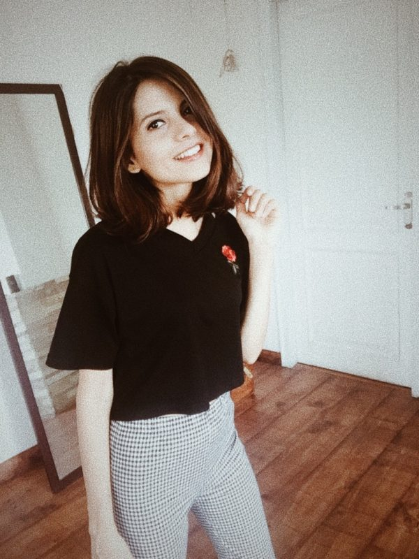Zaful embroidered tshirt