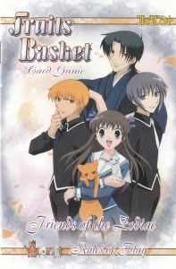 Fruits Basket Card Game Rulebook Cover