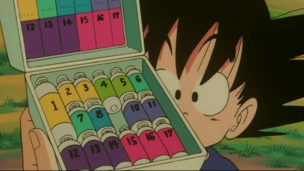 Goku Capsules