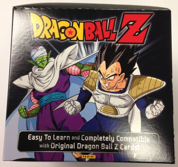 Panini America DBZ Dragon Ball Z TCG CCG Booster Box Package 1