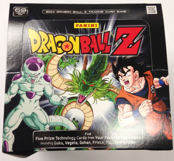 Panini America DBZ Dragon Ball Z TCG CCG Starter Deck Constructed Structure Box