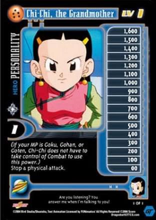 ChiChi Dragon Ball GT CCG