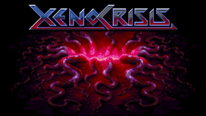 xeno crisis title screen