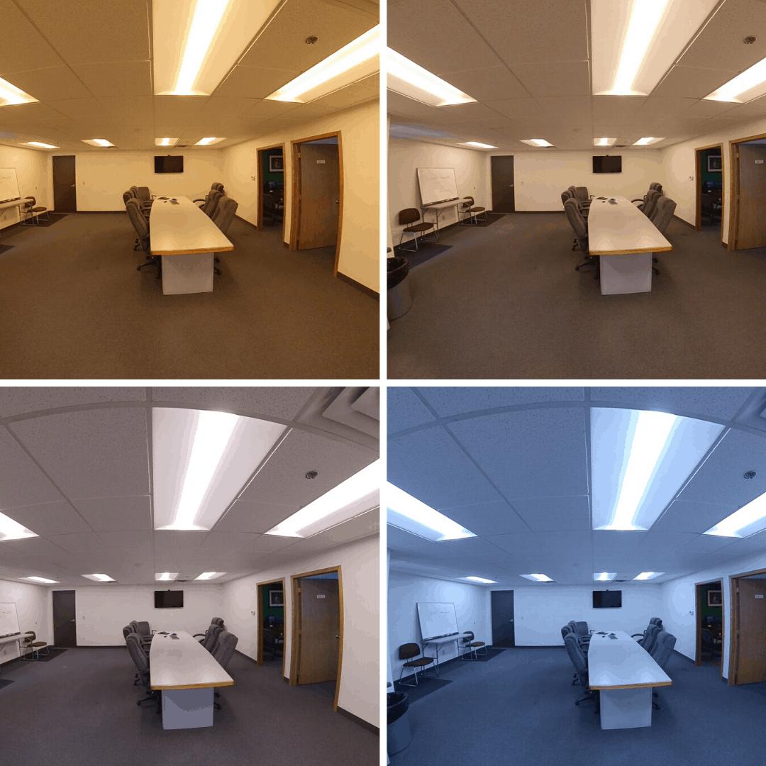 tunable lighting improves productivity