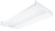 Hubbell Lighting has announced two new enclosed basket fixtures from Columbia Lighting—the Transition Enclosed TRE (fluorescent) and LTRE (LED).