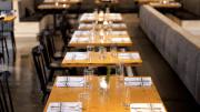 Viridian Reclaimed Wood's commercial tabletops