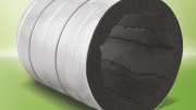 AP Spiralflex is a 100 percent fiber-free, elastomeric duct liner made specifically for spiral ducts.