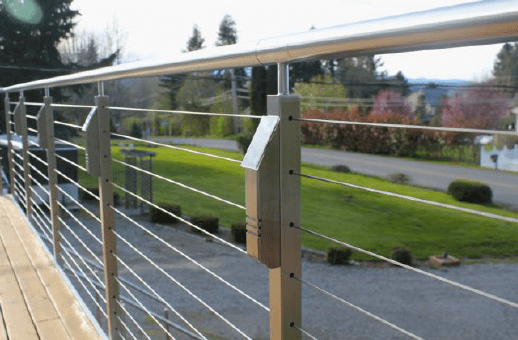 solar powered led accent lights designed for cable railing systems