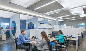 Armstrong acoustical ceilings will be featured in an Office Spaces TV show premiering on Lifetime Television and Fox Business Network