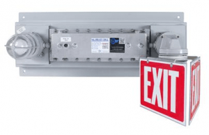 Larson Electronics, a company that specializes in industrial lighting solutions, released a hazardous-location emergency exit light system equipped with a 90-minute battery backup ballast to allow operation when power is severed.