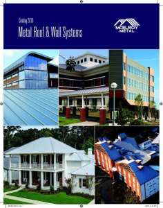 McElroy Metal has released its updated 2016 Product Catalog, a 36-page roster covering the complete metal roof and wall systems line.