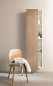 Duravit is incorporating a range of roomy tall cabinets in new sizes.