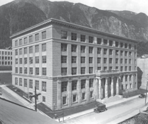 The completed Alaska State Capitol, 1931.