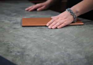 Formica Corp.'s 2017 Specialty Collection includes two high-performance, low-maintenance surfacing products—Formica Infiniti and dECOLeather.