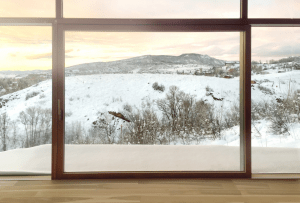 Zola Windows now offers its PanoramicView Lift & Slide with a completely frameless fixed glass portion.