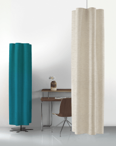 Snowsound now offers Snowsound-Fiber textile products that absorb sound to optimize room acoustics.