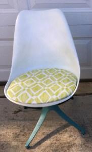 Bucket chair.