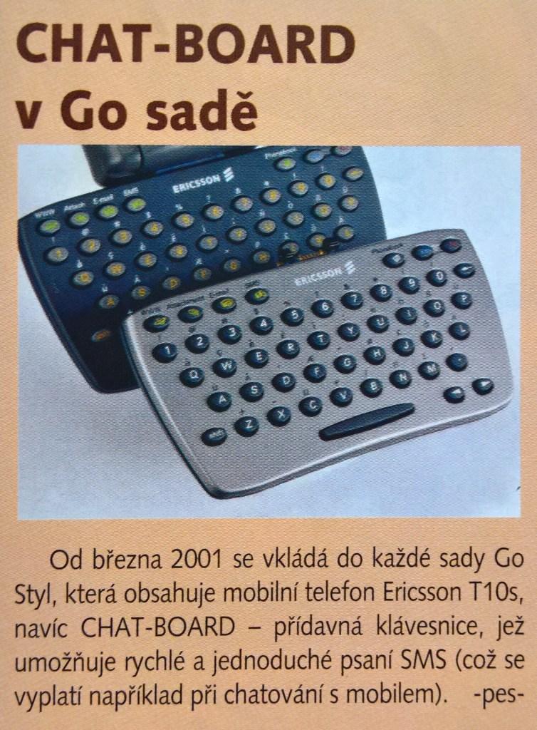 Ericsson T10 Chatboard